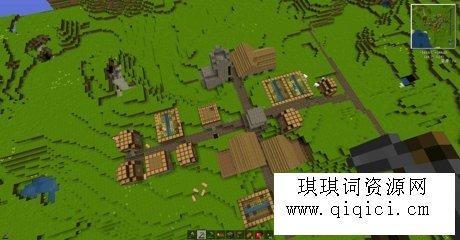 我的世界村庄